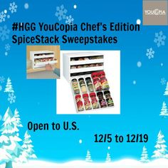 Holiday Gift Guide YouCopia Chef's Edition SpiceStack Sweepstakes #HGG 2014 http://bargnhtress.com/2014/12/holiday-gift-guide-youcopia-chefs-edition-spicestack-sweepstakes-hgg-2014/ Bargnhtress Reviews
