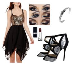 """Performance"" by onyx-silverwolf ❤ liked on Polyvore featuring Swat and Jimmy Choo"