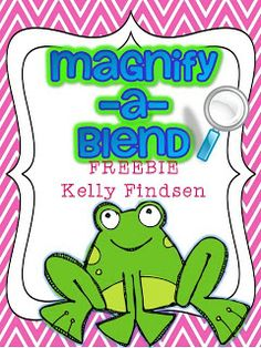 FREE: Magnify-A-Blend {a hands-on activity to practice those tricky consonant blends!}