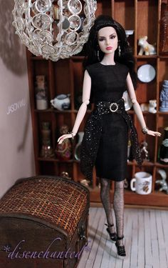 Agnes Welcomes Friday wearing Nise's Designs