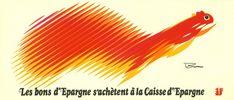 campagne Caisse d'Epargne, 1974, Roger Excoffon