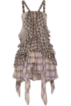 Roberto Cavalli Printed silk-chiffon dress - 65% Off Now at THE OUTNET