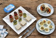 5 gustari de 5 minute (CC Eng Sub) Weight Watchers Appetizers, Party Trays, Tzatziki, Finger Foods, Pesto, Appetizer Recipes, Gem, Food And Drink, Finger Food