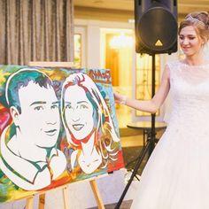 Този поп арт портрет е свързан с идеи за: - подаръци за сватба - годежни пръстени - подарък за младо семейство - луксозни подаръци за сватба - подарък за годишнина - организация на сватба Art, Kunst, Art Education, Artworks