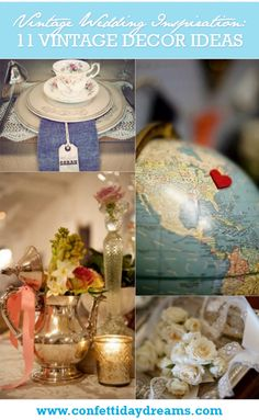 11 Vintage Wedding Decor Ideas