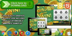 [ThemeForest]Free nulled download Scratch and win - Scratchcard Game from http://zippyfile.download/f.php?id=53063 Tags: ecommerce, All-Scripts, casino, casino game, gambling, html5, html5 casino, jackpot, lottery, scratch, scratchcard