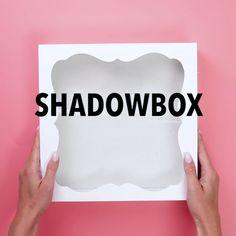 DIY Wedding Shadowbox Bank