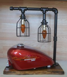 High Quality Motorcycle Gas Tank Desk / Table Lamp By RevolutionDesigns1 On Etsy  Https://www Nice Look