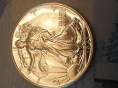 1943 walking liberty beautiful unc silver by #drewsCollectibles #coins half dollar