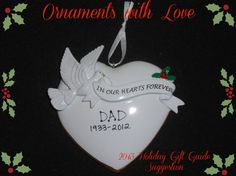 Ornaments With Love Review and Giveaway - Bullock's Buzz This year give the gift that lasts - a personalized ornament from Ornaments With Love.