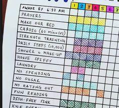 Tracker d'activité mensuel : le meilleur moyen d'améliorer son quotidien !