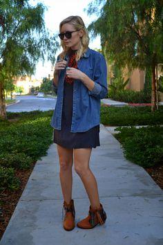 FALL HUES // www.cassiekarl.com #fashion #style #blogger