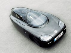 Volkswagen's Single Seater 1 Litre Car, Made Using Space Technology... Unique strange car