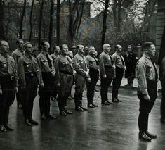 Hitler and Goering in Munich November 9 1935