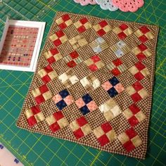 Quilting with the Past II. Love this doll quilt!