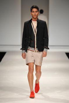 Pascal Donquino (Men's Fashion Week Singapore 2012). Japanese designer Akira Takeuchi