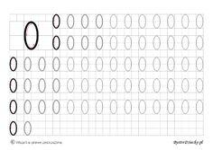 Nauka pisania cyferek dla dzieci – szablony z dużą czcionką « Bystre Dziecko Kids Math Worksheets, Math For Kids, Alphabet, Homeschool, Education, Anna, Children, Worksheets For Kids, Speech Language Therapy