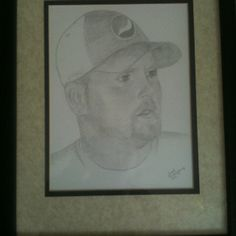 Portrait of Bobby Dodson, my late brother.