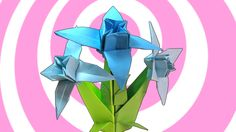 How to Make Origami Edelweiss Flower   Stem Tutorial