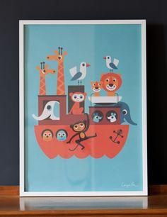 Ark Poster www.roseandgrey.co.uk