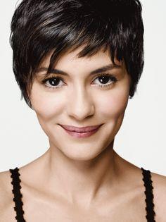 meu próximo cabelo: Audrey Tautou Inspired