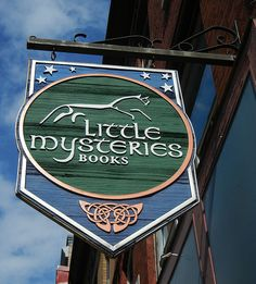 Little Mysteries Books, Halifax by Literary Tourist