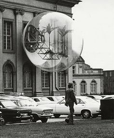 Haus-Rucker-Co, Oase Nr. 7 (Oasis No. installation at Documenta Kassel, Germany, Photo: Carl Eberth/©documenta Archives Art Et Architecture, To Infinity And Beyond, Art Moderne, Retro Futurism, Public Art, Installation Art, Oeuvre D'art, Les Oeuvres, Sculpture Art