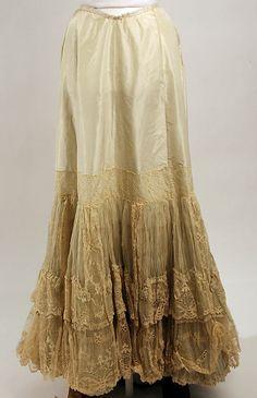 Petticoat--1890s