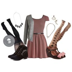 """""""Sugar and Spicy Dress"""" by modcloth on Polyvore"""
