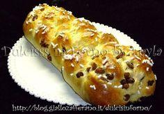 Treccia con uvetta, ricetta pasta lievitata - Alto Adige