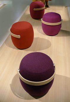 Carry On is Mattias Stenberg's first design for Offecct. Carry On is a portable seating furniture.
