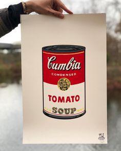 Cumbia 🥫 Pop Art Poster