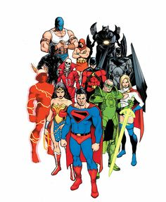 This is the Justice Society disambiguation page. The Justice League of America is the original...
