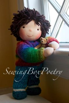Waldorf inspired Doll 12'' Boy 'Emil' by SewingBoxPoetry on Etsy