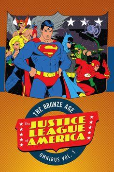 JUSTICE LEAGUE OF AMERICA: THE BRONZE AGE OMNIBUS VOL. 1 HC - Comic Art Community GALLERY OF COMIC ART