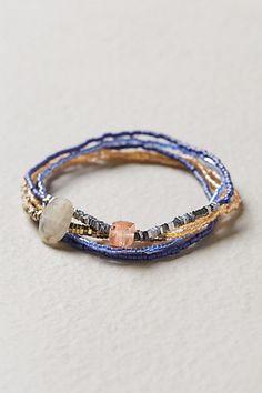 Beaded Bracelet Set - anthropologie.com