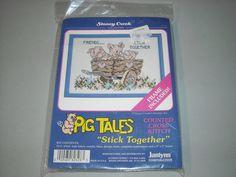 Janlynn Pig Tales Friends Stick Together Piglets by BathoryZ