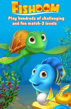 Dive into an underwater world of match-3 fun! Free to play!