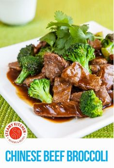 In this Chinese Broccoli Beef Recipe, you'll learn: how to make an authentic Broccoli Beef that's light, intensely flavorful without the goopy brown sauce. Learn how to keep the broccoli crisp-tender, andhow to perfectly sear the beef, even if you have a non-stick wok or pan. Also, learn why just a touch of vinegar is thesecret ingredient for authentic Chinese Beef Broccoli.