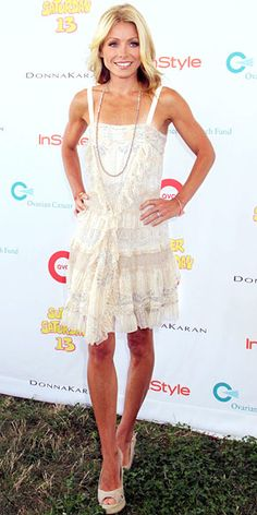 Look of the Day - August 2, 2010 - Kelly Ripa from #InStyle