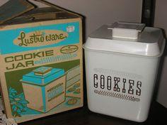 Lustroware Cookie Jar