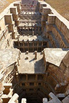 Rani Ki Vav (the Queen's Stepwell) in Patan, Gujarat, India