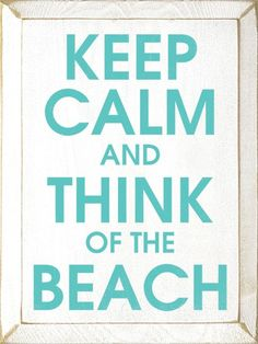 Wood sign. Keep calm and think of the breach.