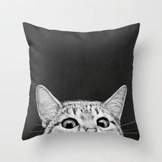 You Asleep Yet? Throw Pillow