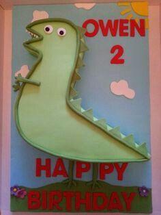 Mr Dinosaur Cake