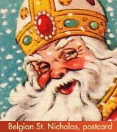 Celebrate St. Nicholas Day! We're going to do make a point of doing something nice for others on this day and tell the story of St. Nicholas.