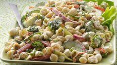 garden ranch pasta salad