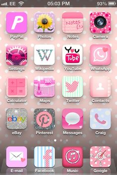 iphone girly apps - Google Search