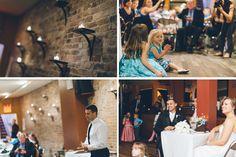 Wedding reception at Brick NYC. Captured by NYC wedding photographer Ben Lau.