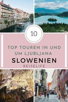 Die schönsten Ljubljana Sehenswürdigkeiten direkt in der Stadt lassen sich zügig an einem Tag erkunden. Wenn du in der slowenischen Hauptstadt unterwegs bist, solltest du aber unbedingt auch ein paar in der direkten Umgebung liegenden Highlights erkunden. Gigantische Höhle, märchenhafter See oder die schönste Zugstrecke Sloweniens – Hier kommen die besten Ljubljana Tipps für die schönsten Ausflüge und Touren in und außerhalb der Stadt! Slowenien Reisetipps I Slowenien Roadtrip